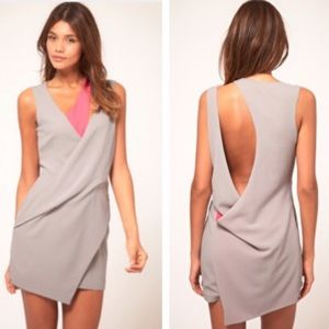 Asos Petite asymmetrical dress